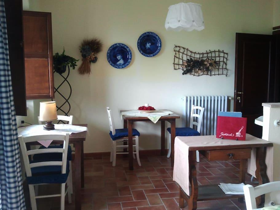 Umbria apartement in farmhouse 6+3