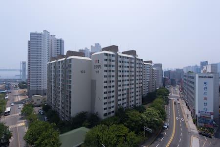 [머무르다]+광안리바닷가5분\•_•/#2 - 부산광역시 - Apartamento
