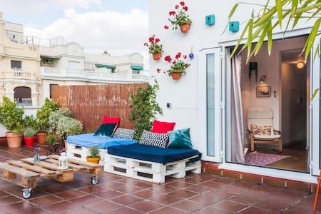 Ático con terraza increíble!!
