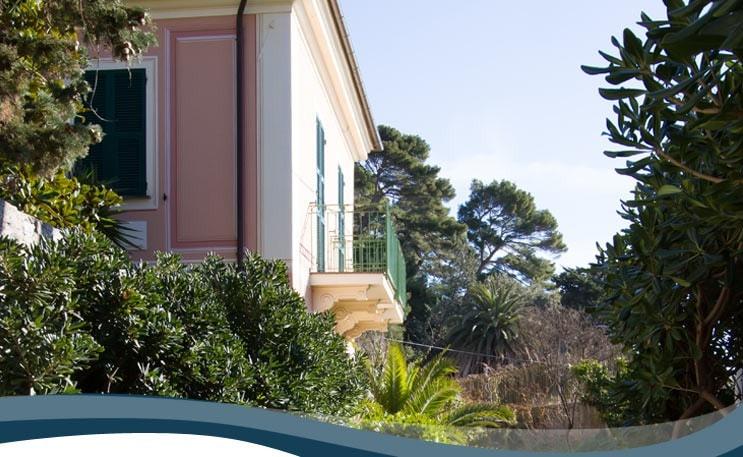 The villa in Denia Finale Ligure