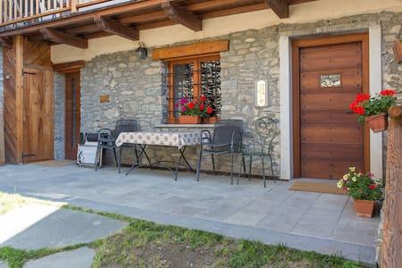 Alpine-style apartment (gentiane) - Gignod