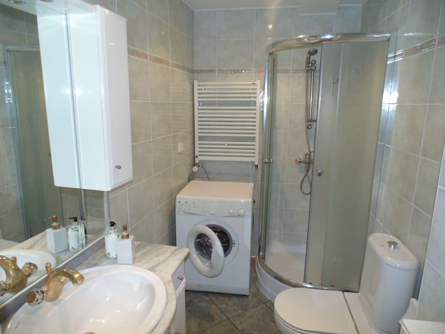 Łazienka I poziom