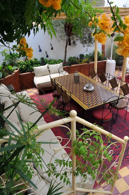 Marrakesh Guest house in th ryad