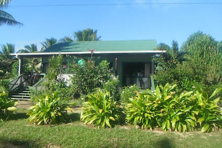 Spacious Bungalow with Lagoon View - Arutanga - Bungalow