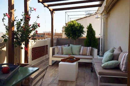 Cosy, sunny penthouse + wifi - Apartment