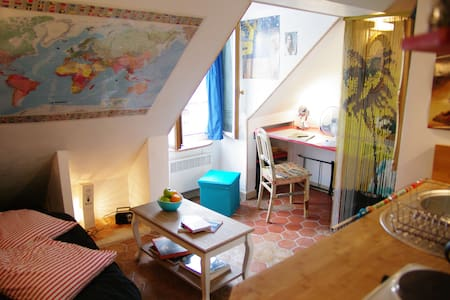 Charming small flat near Montmartre