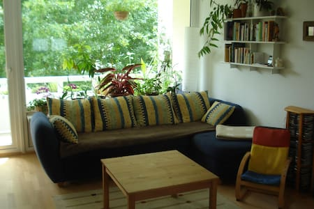 Seenahe zentrale Wohnung f.Familien - Überlingen - Haus