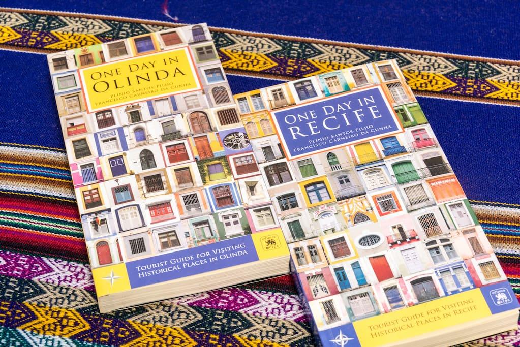 Guias das cidades Recife e Olinda em Ingles