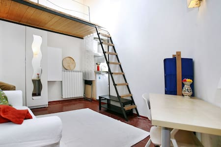 Lovely studio (Air con, wifi, bathroom, kitchen) - Florence - Apartment
