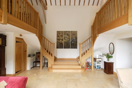Orchard Barn,SEWELL En-suite double.near MK Woburn - Bed & Breakfast