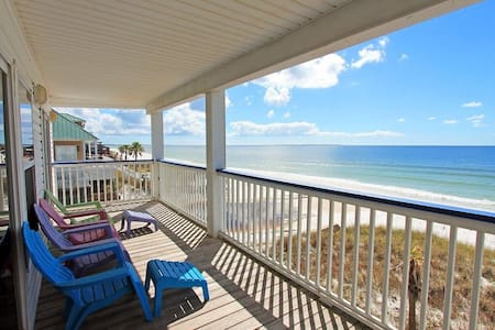 Starline A-3BR/2BA-AVAIL 12/8-12/14 $966-RealJOY Fun Pass -Sleeps 5-Gulf FRONT - Mexico Beach