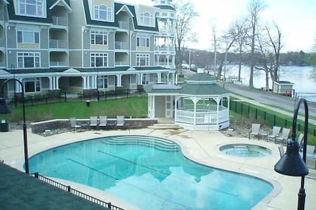 Bemus Point Upscale Lakeview Condo - Bemus Point - Condominium