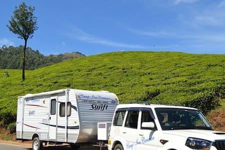 Green Kerala Getaways in Campervan/Caravan - Camper/RV