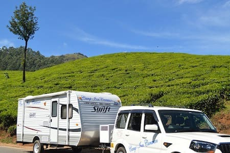 Green Kerala Getaways in Campervan/Caravan - Lakókocsi/lakóautó