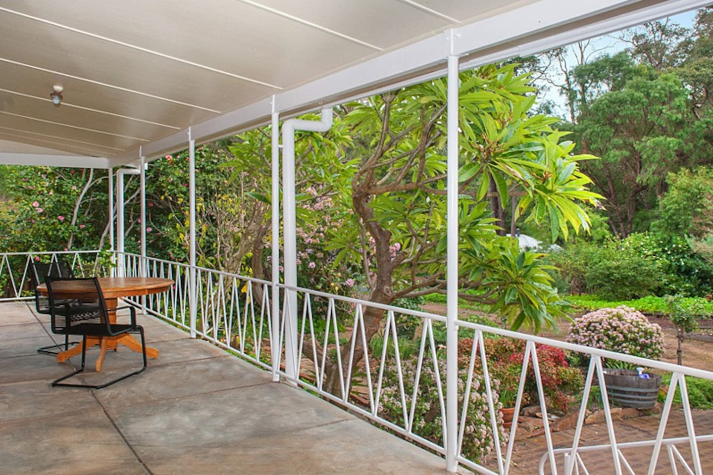Take in the forest views from the North facing verandah