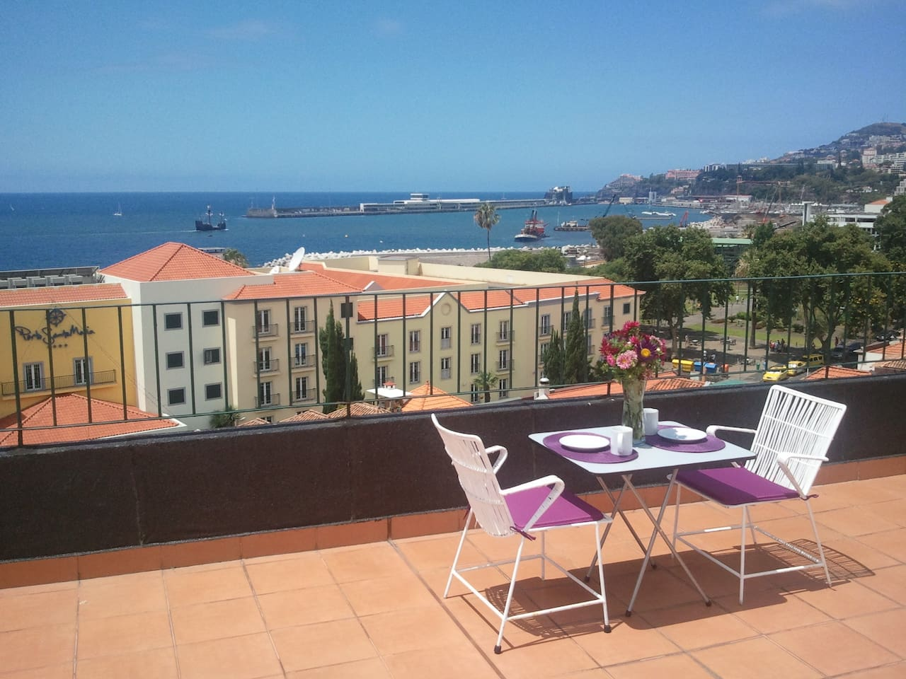 Rooftop terrace / Terraço