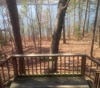 Greer's Ferry Lakefront Cabin - Tumbling Shoals - Casa