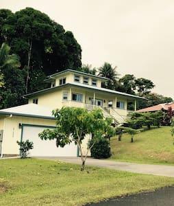 SPECIAL Hamakua, Hilo, Hakalau,  Volcano - Hakalau - Ház
