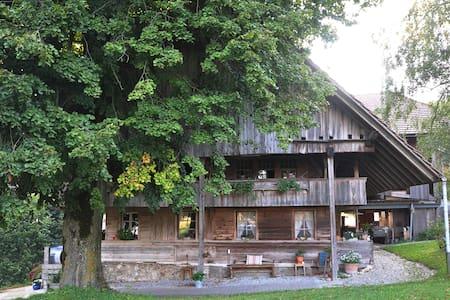 Rustical Farmhouse, built 1733 - Blockhütte