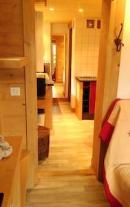STUDIO VUE EXCEPTIONNELLE SUR MONT BLANC - Passy - Apartment