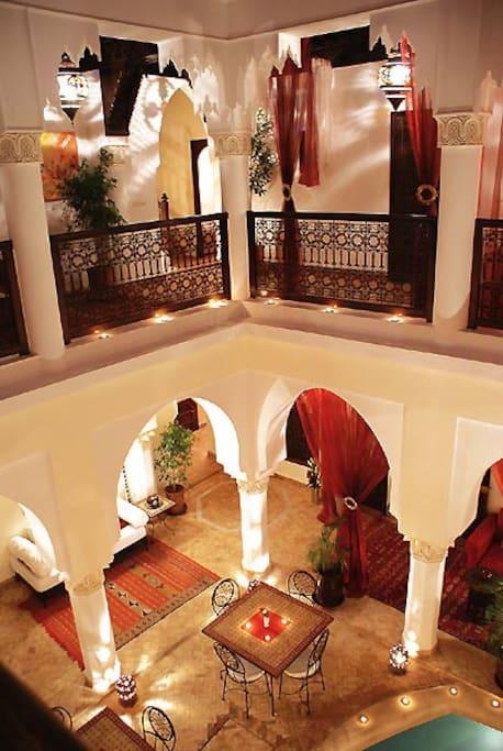 Riad CALISTA Chambre Argana
