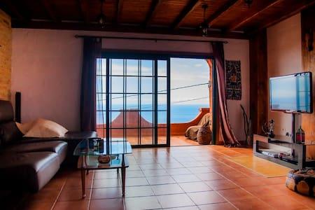 Casa Rústica vistas mar y montaña - La Laguna