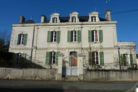 2 lovely bedrooms for 4 on riversid - Cheffes / Sarthe