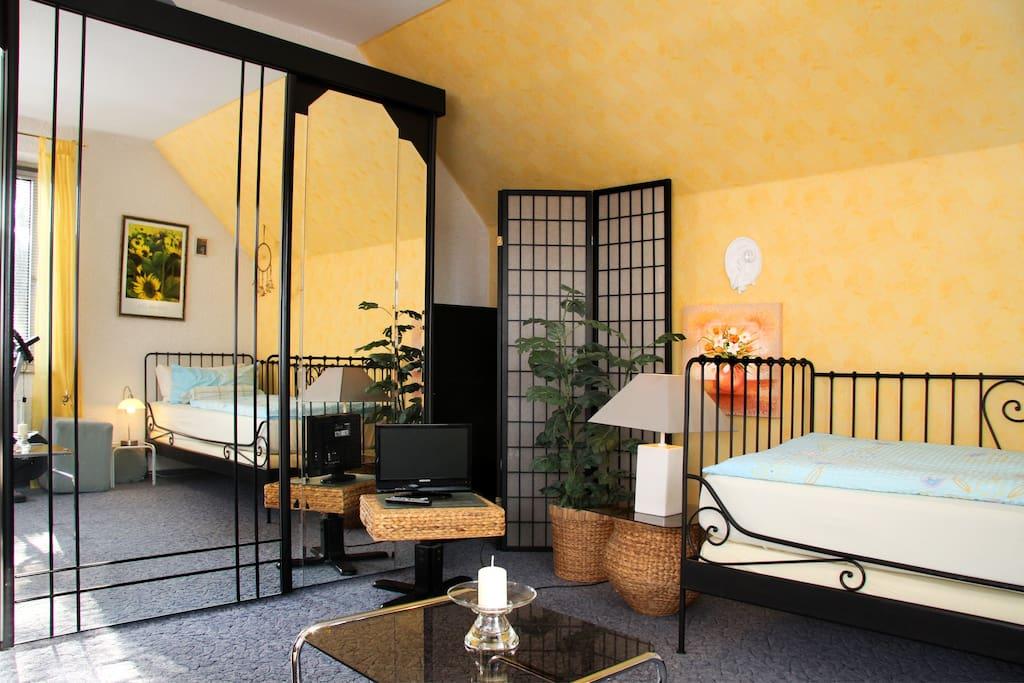 Richtig schönes ruhiges Zimmer.....