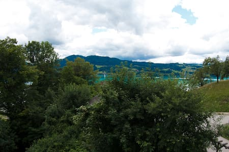 Flat with a view and balcony - 250m to the lake - Steinbach am Attersee