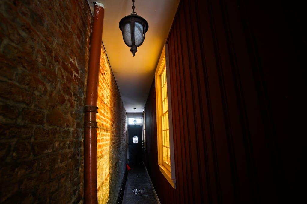 Haunted historic Marigny home