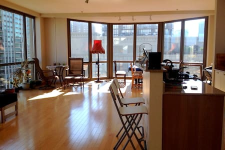 HUGE 2Bed PENTHOUSE w/deck MAG MILE - Apartment