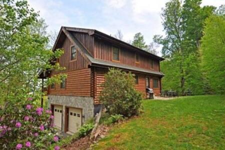 Large Luxury Log Cabin on App Ski Mtn, Location! - Blowing Rock - Chalet
