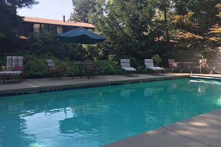 Cozy cottonwood heights with pool! - Casa