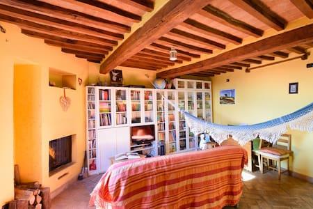La casa in Val d'Orcia - Aamiaismajoitus