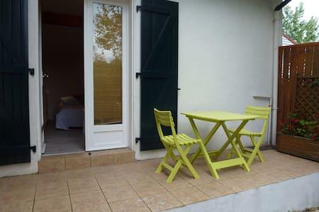 Charmant studio avec jardin, plage à 500m - Bidart - Appartement