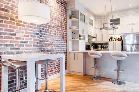 Spacious - GREAT location - Modern - Montreal - Appartamento