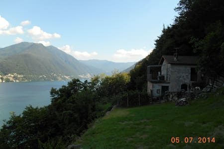Chalet Sciogn, Great view in Nature - Brienno