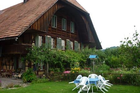Schlafen im Emmentaler Bauernhaus - Lauperswil - Appartement