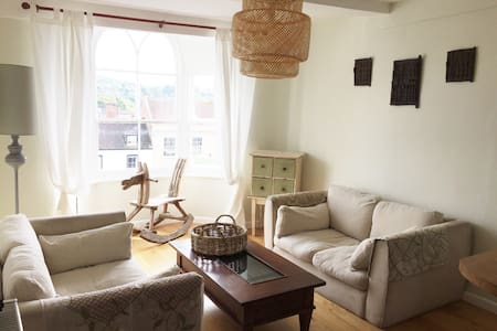Central and Sunny 2 bedroom flat in Marlborough - Apartamento
