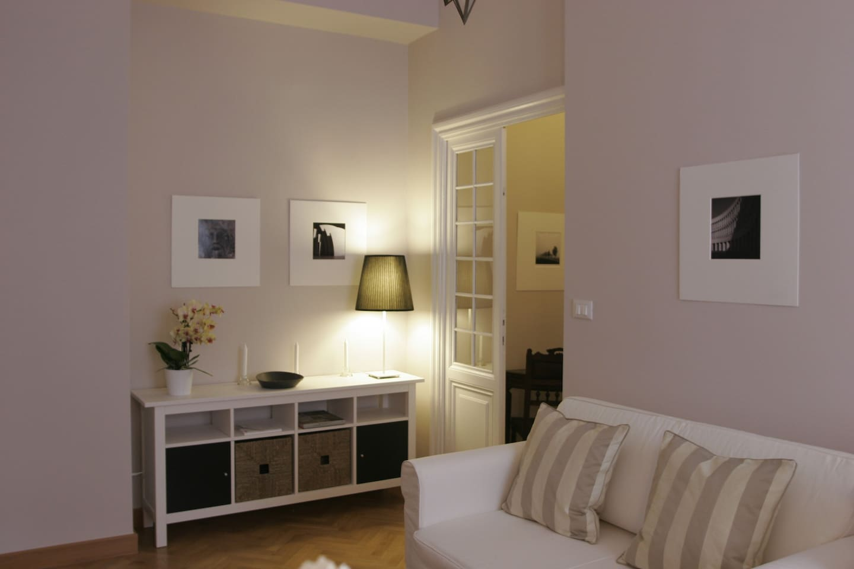 Ambiente colazione - angolo cottura  - flat TV