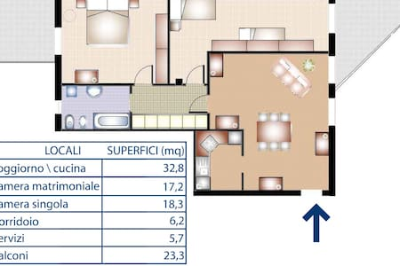 Appartamento Francesco Gonzaga - San Giorgio di Mantova - Wohnung