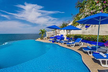 Villa Mia 10 Bedrooms: 107455 - Boca de Tomatlan - Villa