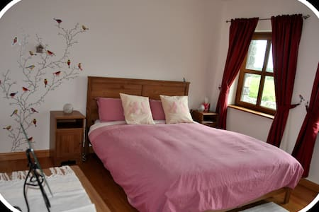Wild Atlantic Way-Modern Country Home - Bird Room - Bed & Breakfast