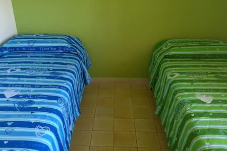 Camera Verde 2 letti singoli - Hus