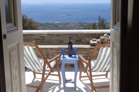 "TINOS ""SOHOS"" VILLAGE HOME - Tinos - Appartement"