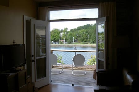 Great apartment on the Trent River - Lakás