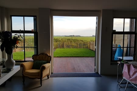 Rural newly build house 15 min to Amsterdam centre - Haus