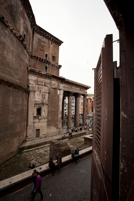 The Pantheon from your window