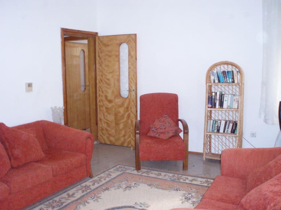 Spacious comfortable lounge