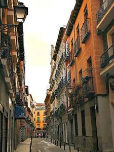 4 People studio/penthouse, City Center - Madrid - Apartment